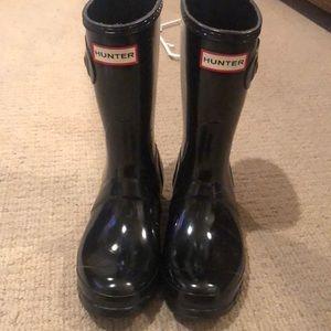 Hunter mid calf rain boot